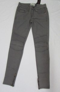 Ed Hardy Women Stretch Classic Gray Narrow Denim 2531 Skinny Jeans