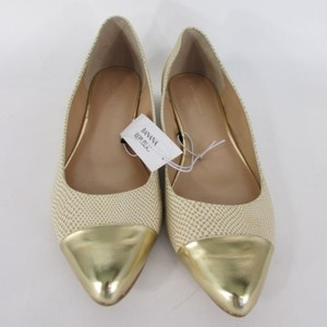 Banana Republic Women Gold Pink Blue Pumps Fashion Ballet Flats
