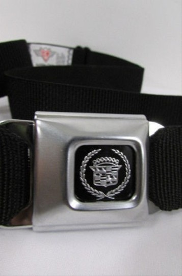 Other Women Black Fabric Airplane Seat Fashion Belt 25-50 Honda Ford Cadillac