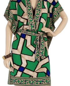 Diane von Furstenberg short dress Multi Tuvallu Print on Tradesy
