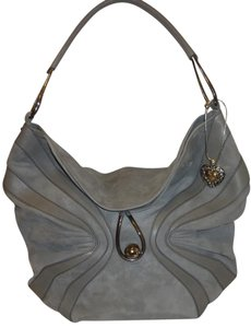 Emanuel Ungaro Refurbished Suede X-lg Hobo Bag