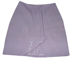 XOXO Business Office Wear Zips Formal Professional Skirt Violet