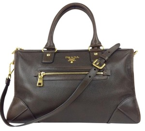 Prada Leather Satchel in brown