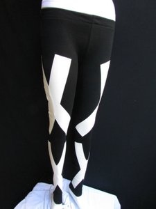 Other Women Fashion Leggings Trendy Xx White Xss Capri/Cropped Pants Blacks