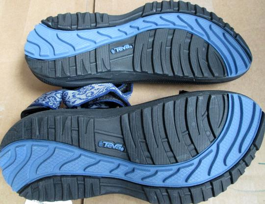 Teva Butterfly Scene Blue Sandals