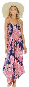 Bright Navy Via Sunny Maxi Dress by Lilly Pulitzer