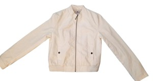 Worthington New Leather Leather Leather Style White Leather Jacket