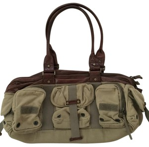 Diesel Tan Travel Bag