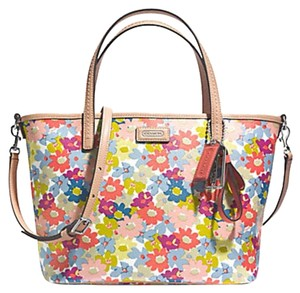 Coach Tote in Floral Multi