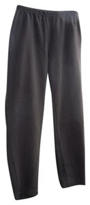 Erika Leggings Pockets Stretch Knit Autumn Boot Cut Pants Brown