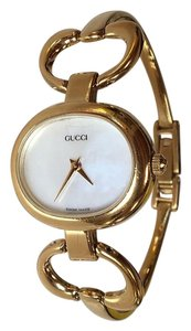 Gucci GUCCI Gold Ladies Bangle Watch