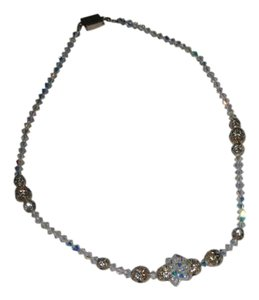 Giavan Giavan HOL250N-(N7) Swarovski Crystal Necklace with Center Cluster