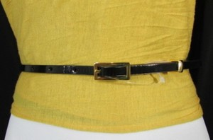 Banana Republic Banana Republic Women Thin Faux Leather Narrow Fashion Belt Purple