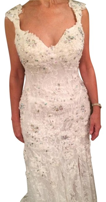 Preload https://img-static.tradesy.com/item/19258591/jovani-ivory-lace-with-crystals-and-tiny-pearls-2180-long-formal-dress-size-10-m-0-1-650-650.jpg