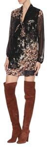 Giuseppe Zanotti Over The Knee Sexy Alabama BROWN Boots