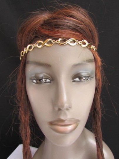 Other Women Gold Head Chain Fashion Jewerly Infinity Design Adjustable Band
