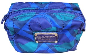 Marc by Marc Jacobs Marc by Marc Peacock Colors Nylon Printed Cosmetic Bag