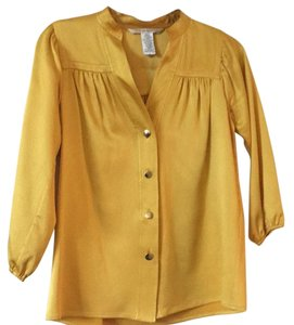 Diane von Furstenberg Top Golden yellow