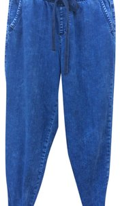 Abercrombie & Fitch Capri/Cropped Pants Blue