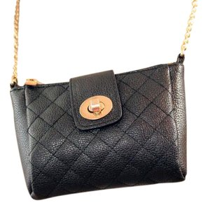 Coach Chanel Pebbled Leather Cross Body Bag