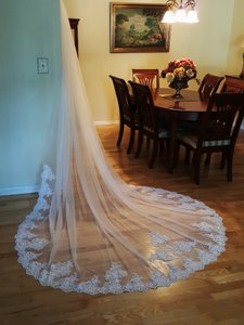 White Cathedral Veil 108