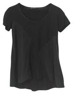 Ella Moss Xs Shortsleeve Top Black