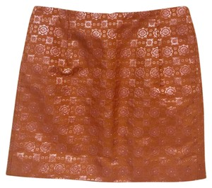 J.Crew Mini Skirt Orange, Pink