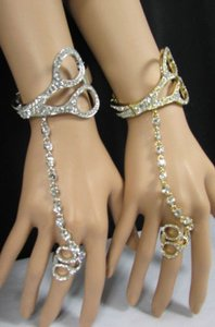 Other Women Scissors Bracelet Hand Chain Fashion Jewelry Slave Ring Gold Silver