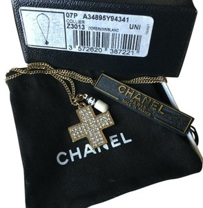 Chanel Chanel Rare Doctor CC Crystal Pill Capsule Necklace