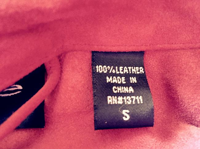 Other Top red leather