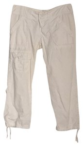 Rubbish Capris White