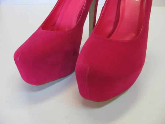 Delicacy Size 11.00 M (Usa) Very Good Condition Pink Platforms