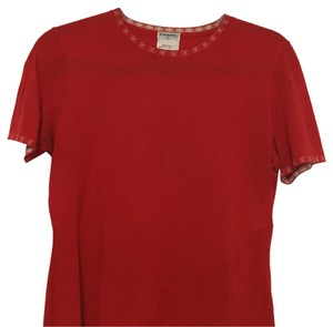 Chanel T Shirt Red