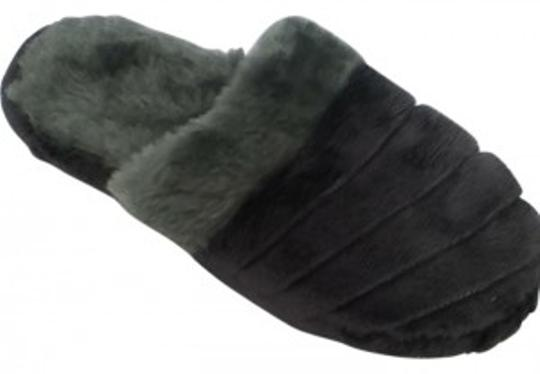 Preload https://item3.tradesy.com/images/aerosoles-grey-fluffy-slippers-cute-bootsbooties-size-us-55-192607-0-0.jpg?width=440&height=440
