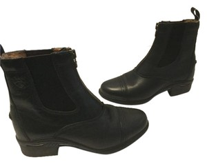 Ariat Padded Insoles Black leather side gussets ankle Boots