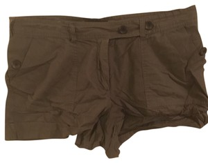 British Khaki Casual Cargo Shorts Olive drab