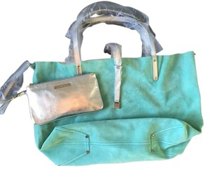 Tiffany & Co. Reversible Tote in Tiffany blue / Silver