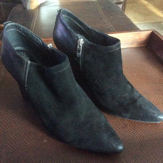 Vince Camuto Black sued and leather Boots