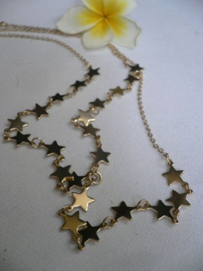 Other Women Gold Metal Trendy Stars Head Chain Grecian Jewelry Image 3