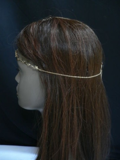 Other Women Gold Metal Trendy Stars Head Chain Grecian Jewelry Image 5