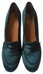 J.Crew Collection Hunter Satin green Pumps