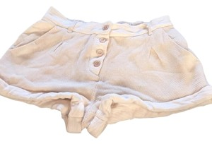 Urban Outfitters Mini/Short Shorts Ivory