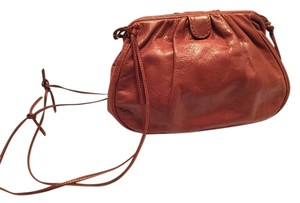 Diva Made in Italy Leather Brown Leather Brown Shoulder Bag