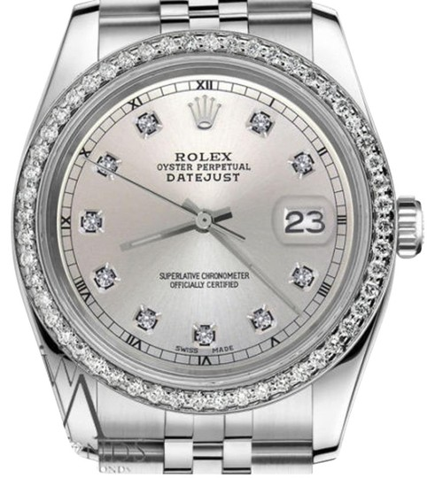 Preload https://img-static.tradesy.com/item/19262056/rolex-ladies-31mm-datejust-silver-color-dial-with-diamond-accent-watch-0-1-540-540.jpg