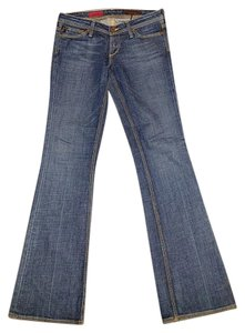 AG Adriano Goldschmied Designer Boot Cut Jeans-Medium Wash