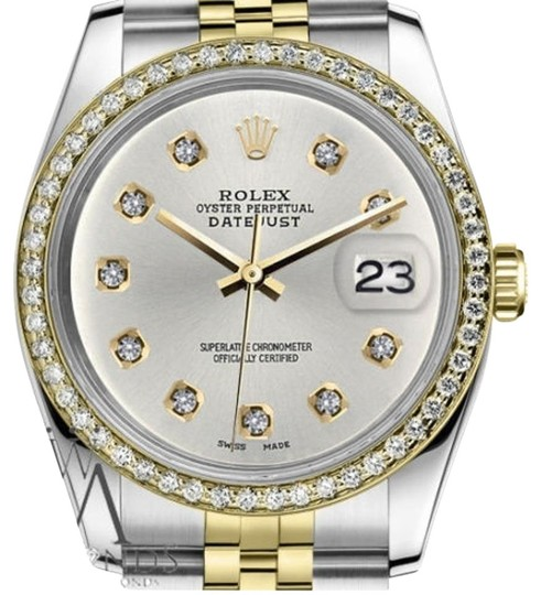 Preload https://img-static.tradesy.com/item/19262734/rolex-ladies-31mm-datejust-2-tone-silver-color-dial-10-round-diamond-accent-watch-0-1-540-540.jpg