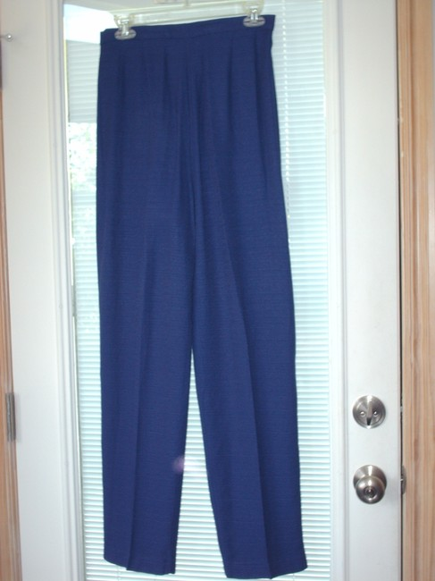 Virgo Purple pantsuit with silver buttons