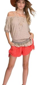 Free People Mini/Short Shorts Coral combo