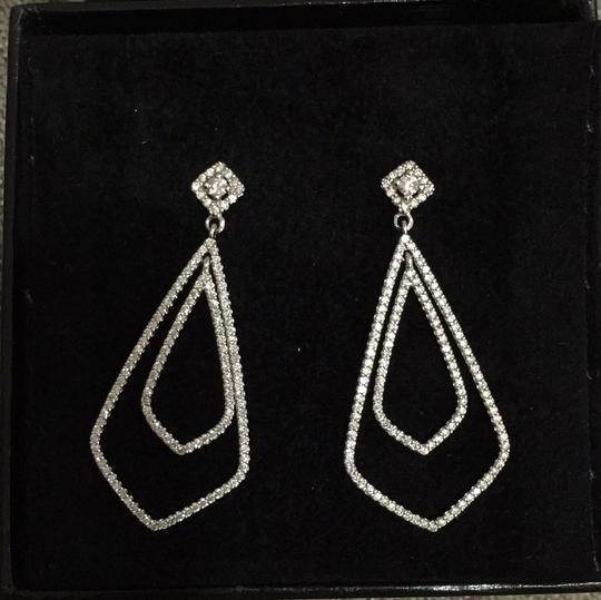 Other 14K White Gold Earrings with 3 ct diamonds