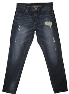 Express Relaxed Fit Jeans-Distressed